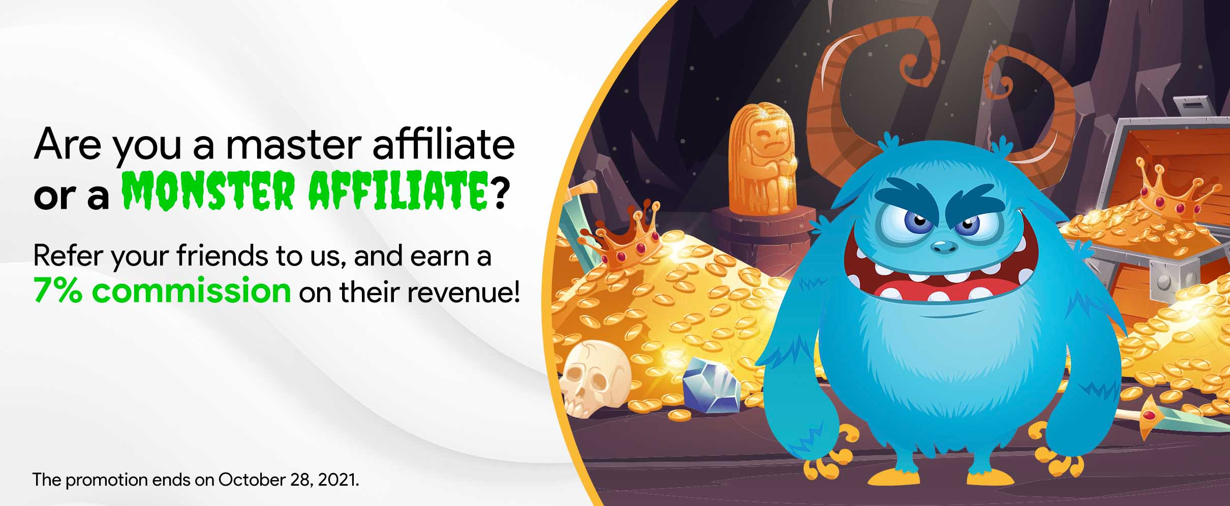 Refer affiliates to ROI Collective and enjoy a 7% commission on their FTDs*!